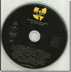 WU-TANG CLAN - Enter the Wu-Tang (36 Chambers) (CD)