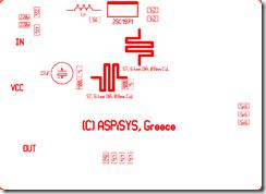 2sc1971-microstripline(silk)_Radio Transmitter Amplifier 6Watt MicroStripline 2SC1971