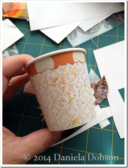 Mini coffee cup by Daniela Dobson