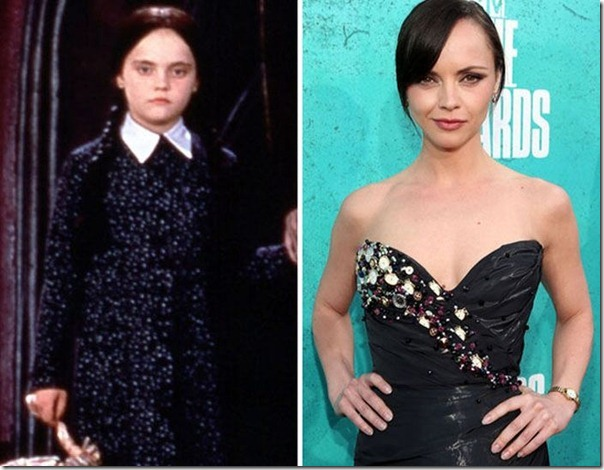 A família Addams antes e agora (5)
