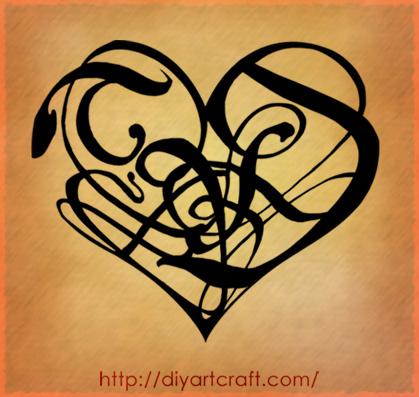 Tags tattoo fantasy SD lettere maiuscole