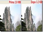 Caesium - Diminuire la dimensione (KB MB) di una foto senza perdere qualità