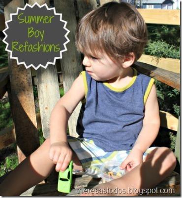 Summer Boy Refashions