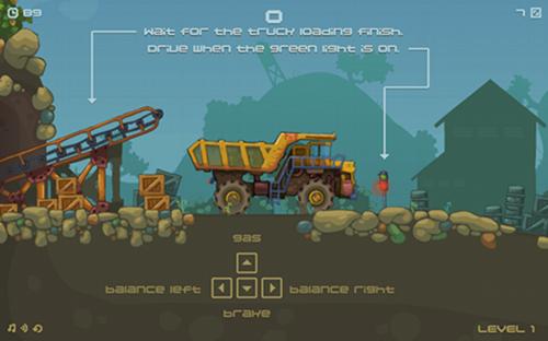 Juegos de Camiones Mining Truck 2