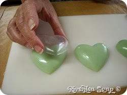 More valentine hearts green (4)