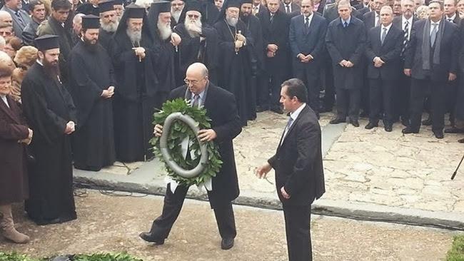 Ο Α/ρχης Κεφαλονιάς και Ιθάκης στις εκδηλώσεις μνήμης για το Καλαβρυτινό ολοκαύτωμα
