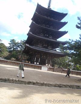 Kofukuji Temple. Nara
