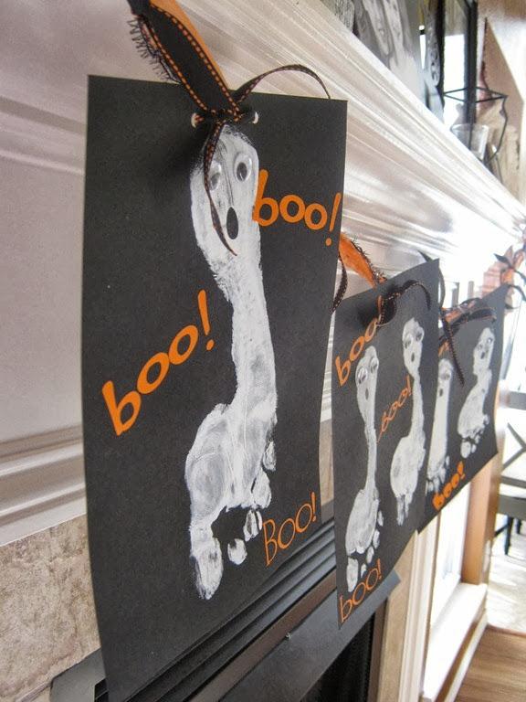 boo footprints