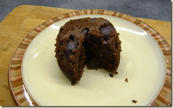 chocolate and cherry pudding 7