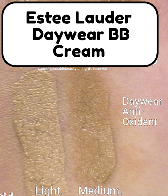Daywear Anti-oxidant Beauty Balm Creme SPF 30 Swatches of Shades Light & Medium