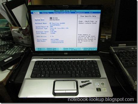 บันทึกช่าง HP Pavilion DV6000 ใส่ Ram 2 GB สองตัวไม่ได้