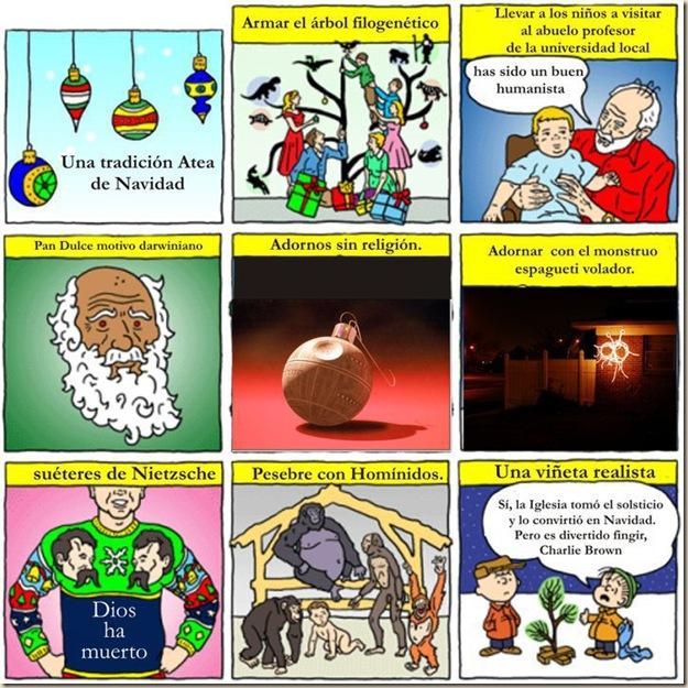 ateismo navidad dios fiestas