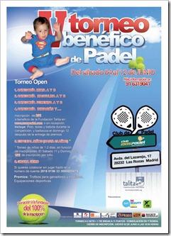 V Torneo Benéfico de Pádel TALITA Fundación Privada Madrid. Anímate y colabora! 2011