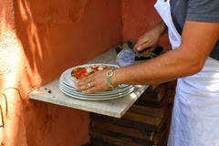 Making Einkorn Pizza in Tuscany