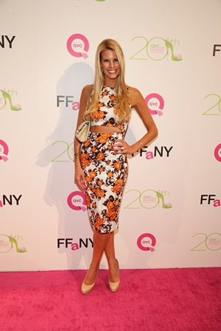 "attends QVC Presents ""FFANY Shoes On Sale"" at Waldorf Astoria Hotel on October 1, 2013 in New York City."