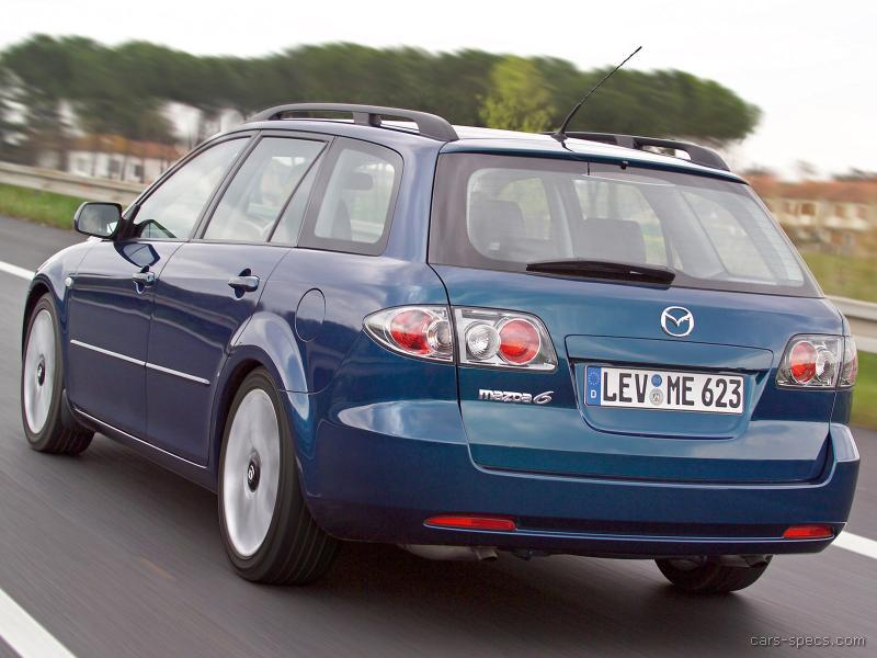 2005 mazda mazda6 wagon specifications pictures prices. Black Bedroom Furniture Sets. Home Design Ideas