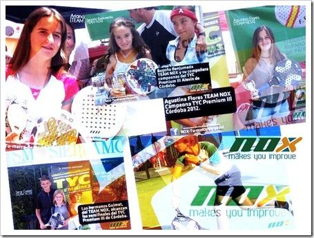Éxito de las promesas del Team NOX en el TYC Premium 3 celebrado en Córdoba.