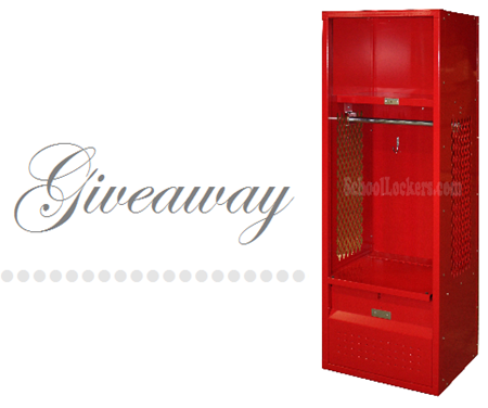 school locker giveaway