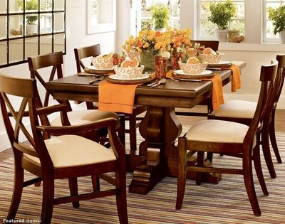 pottery Barn tablescape