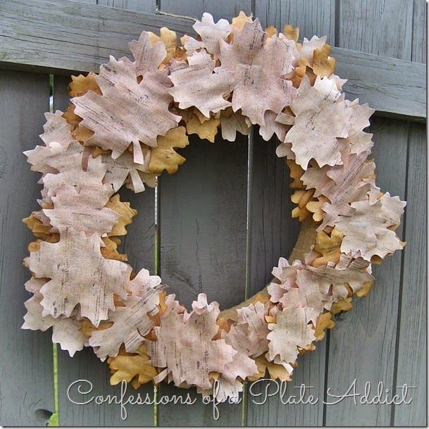 CONFESSIONS OF A PLATE ADDICT Country Living Inspired Faux Birch Bark Wreath