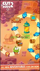 خريطة تفاعلية للتنقل وإكتشاف الأماكن المختلفة فى اللعبة