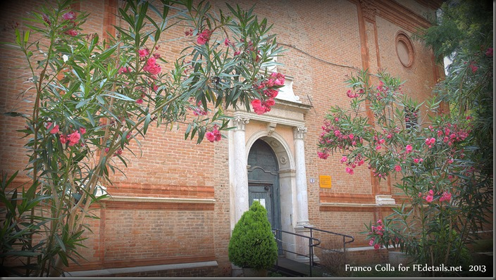 La chiesa di Santa Maria in Vado, Ferrara, Italia, foto3 - The church of Santa Maria in Vado, Ferrara, Italy, photo3