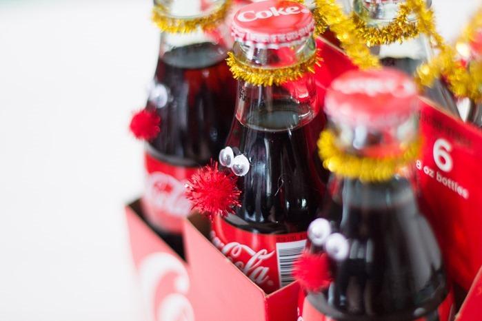 Christmas coke bottle reindeer #RealMagic #Ad #Cbias