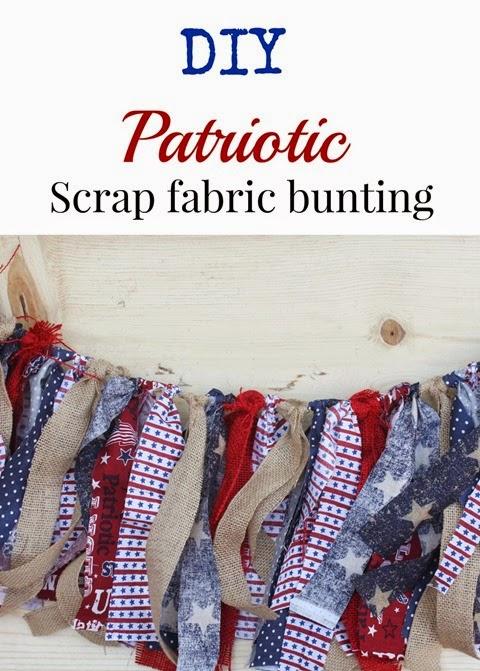 scrap fabric funting