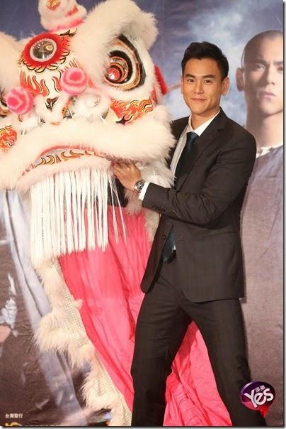 2014.11.27 Eddie Peng during Rise of the Legend - 彭于晏 黃飛鴻之英雄有夢 台北 08