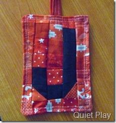 Bag tag for school