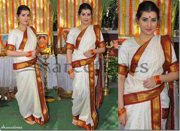 Archana_White_Traditional_Saree