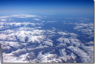 Approaching outer mongolia