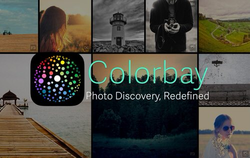 Colorbay photo discovery redefined ios