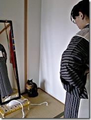 きものを着てみよう (3)