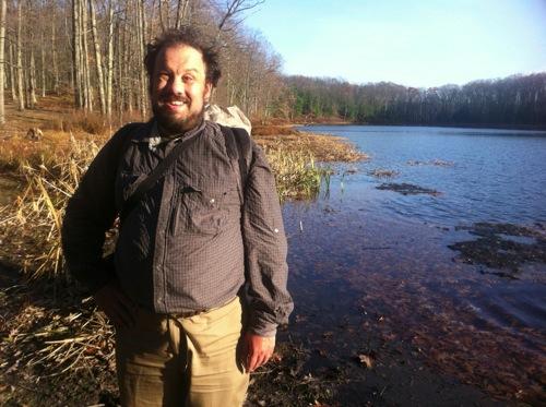 Ken at McCarthy Lake