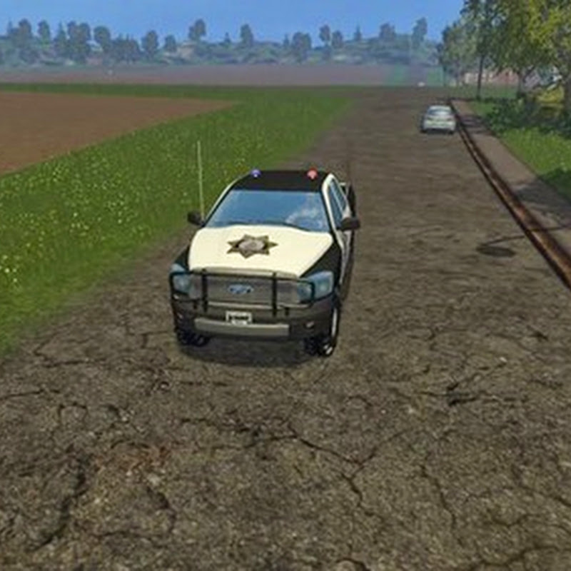 Farming simulator 2015 - Sheriff Pickup v 1.0