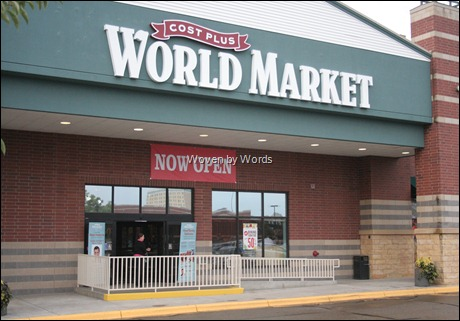 World Market Entrance