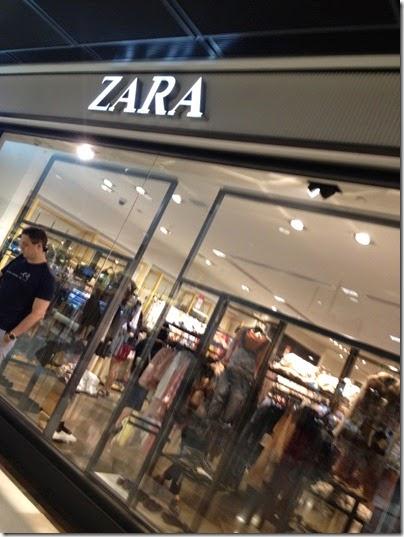 ZARA IFC Mall, HK