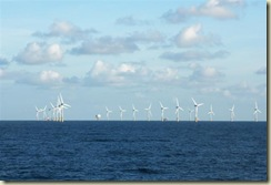 Windmills in the North Sea (Small)