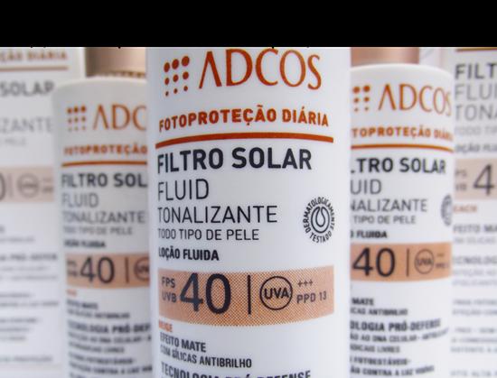 Adcos Filtro Solar Fluid Tonalizante