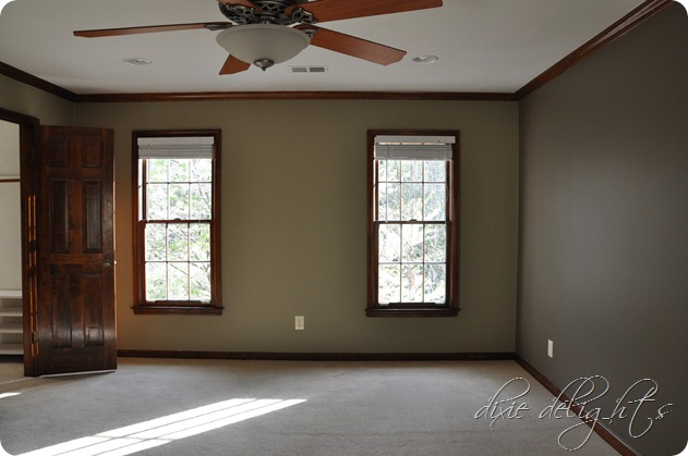 Paint Colors With Dark Wood Trim