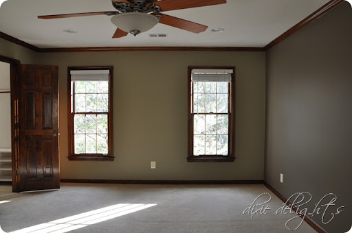 Paint Colors For Bedrooms With Dark Wood Trim
