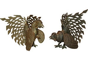 brass roosters