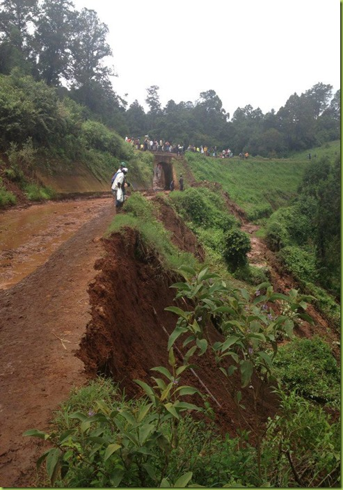 road out of Kijabe