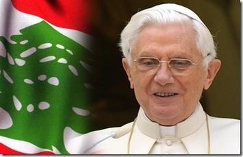 Bento XVI no Libano