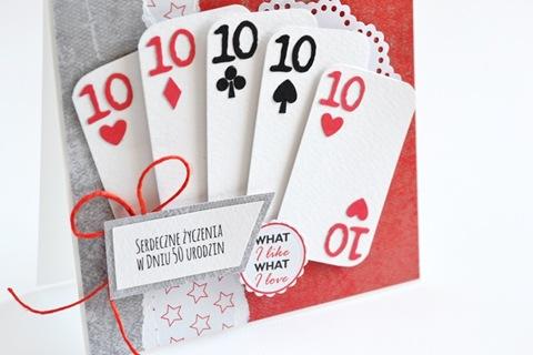 kartka z kartami