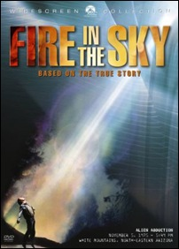 Fire in the Sky - poster
