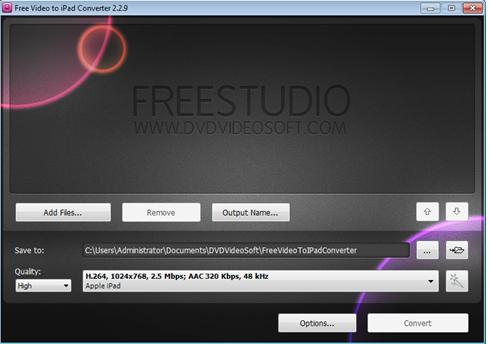 โปรแกรมแปลงไฟล์วีดีโอให้เปิดได้กับ ipad