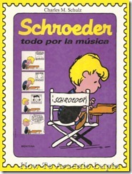 P00017 - Charles Schulz - Schroeder. Todo por la música.howtoarsenio.blogspot.com