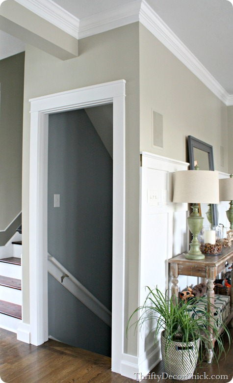 thick door trim